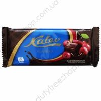 Темный шоколад с вишней