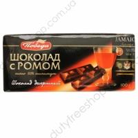 Десертный 50% какао с ромом