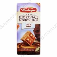 Шоколад молочный 32% какао