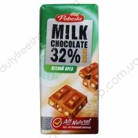 Молочный 32% какао с лесным орехом