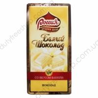Белый шоколад со вкусом ванили