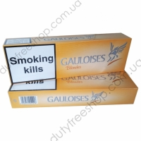 Gauloises Blondes 4 mg Tar