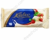 Белый шоколад с клубникой и кусочками печенья